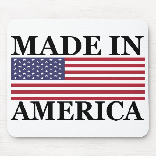 MADE IN AMERICA MOUSE PAD
