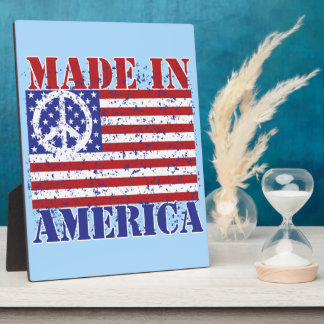 Made in America Display Plaques