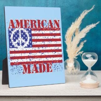 Made in America Plaque