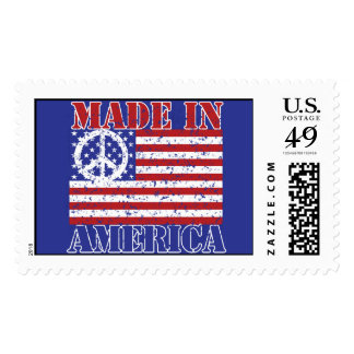 Made in America Postage Stamp