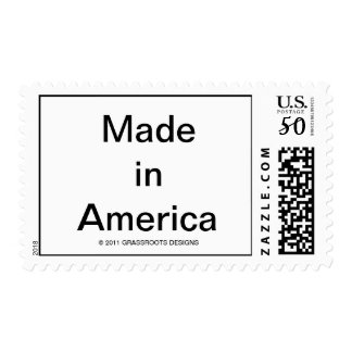 Made in America Postage Stamps
