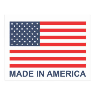 Made In America Postcard