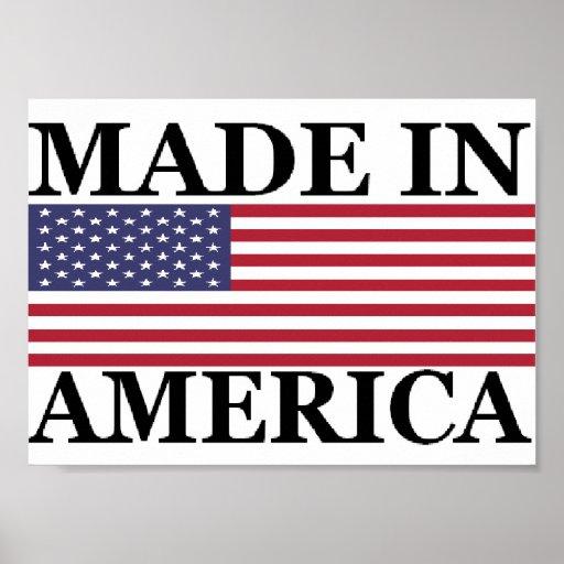 MADE IN AMERICA PRINT