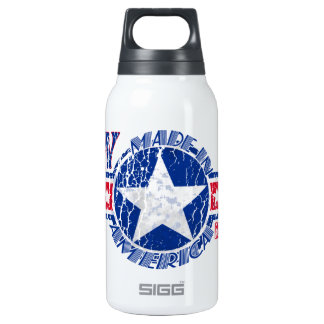 MADE IN AMERICA RN - REGISTERED NURSE PATRIOTIC INSULATED WATER BOTTLE