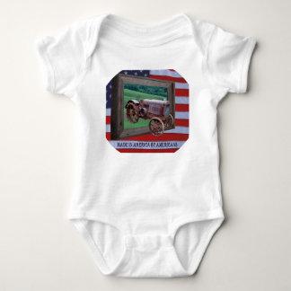 MADE IN AMERICA-T-SHIRT BABY BODYSUIT