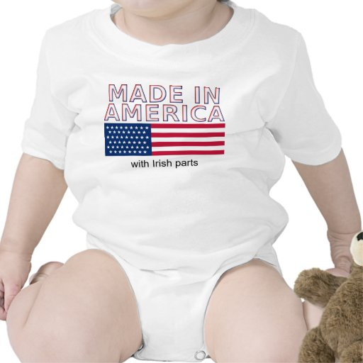 Made In America USA Funny Shirt