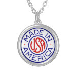 Made In America USA Necklace