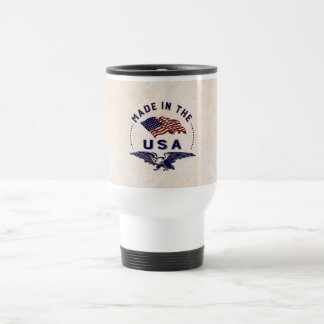Made in America Vintage USA Travel Mug