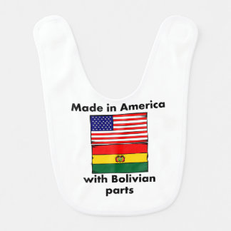 Made In America With Bolivian Parts Bib