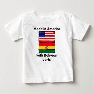 Made In America With Bolivian Parts Infant T-shirt