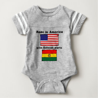 Made In America With Bolivian Parts Shirt
