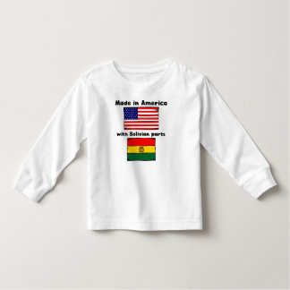 Made In America With Bolivian Parts T Shirts