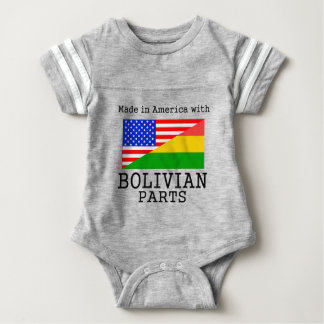 Made In America With Bolivian Parts Tee Shirt