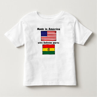 Made In America With Bolivian Parts Tees