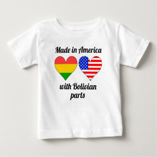 Made In America With Bolivian Parts Tshirt