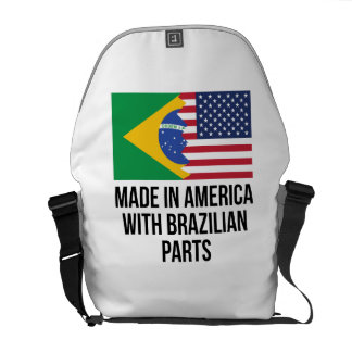 Made In America With Brazilian Parts Courier Bag