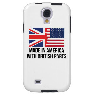 Made In America With British Parts Galaxy S4 Case
