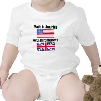 Made In America With British Parts Romper