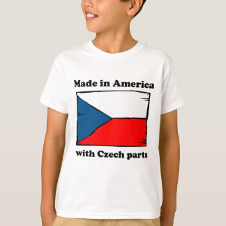 Made In America With Czech Parts T-Shirt