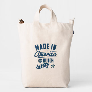 Made In America With Dutch Parts Duck Bag