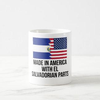 Made In America With El Salvadorian Parts Magic Mug