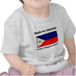Made In America With Filipino Parts Tshirts