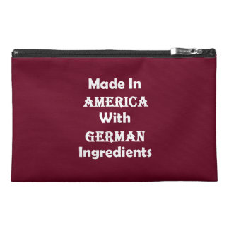 Made In America With German Ingredients Travel Accessories Bag