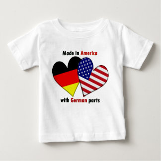 made in america with german parts baby T-Shirt