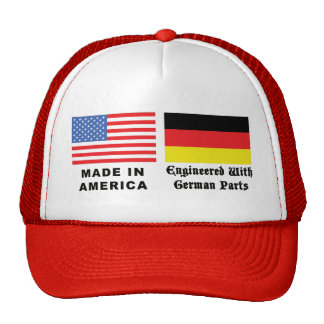 Made In America With German Parts Mesh Hat