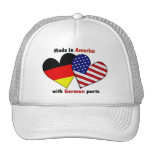 made in america with german parts mesh hats