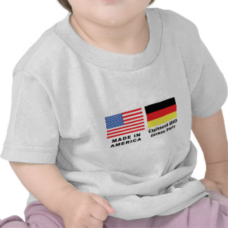 Made In America With German Parts T Shirt