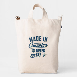 Made In America With Greek Parts Duck Bag