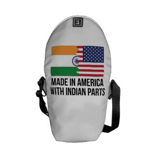 Made In America With Indian Parts Courier Bag