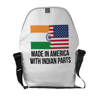 Made In America With Indian Parts Messenger Bag