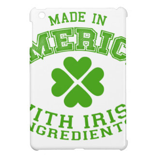Made in America with Irish ingredients iPad Mini Cover