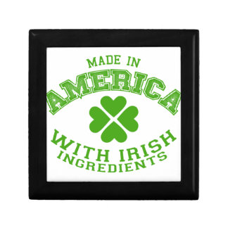 Made in America with Irish ingredients Jewelry Box