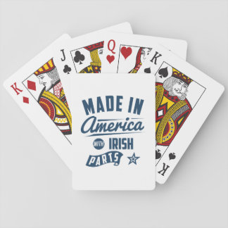 Made In America With Irish Parts Playing Cards