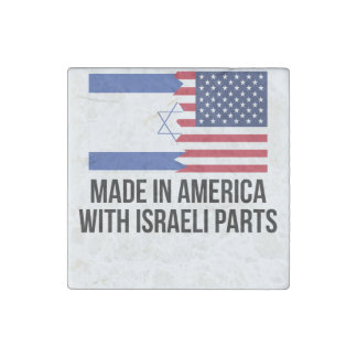 Made In America With Israeli Parts Stone Magnet