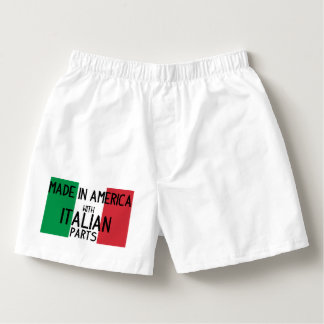Made in America with Italian Parts Boxers