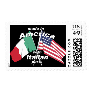 Made In America With Italian Parts Postage