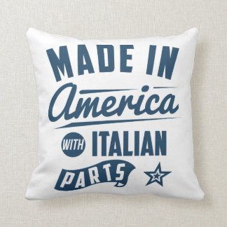 Made In America With Italian Parts Throw Pillow