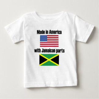 Made In America With Jamaican Parts Baby T-Shirt