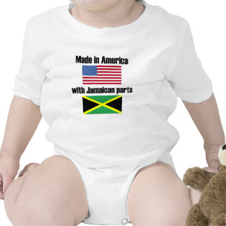 Made In America With Jamaican Parts Romper