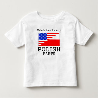Made In America With Polish Parts Tshirt