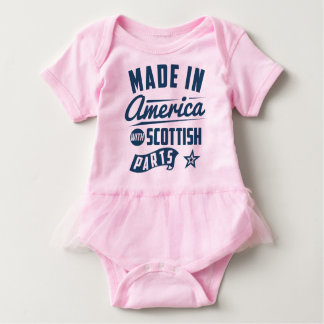 Made In America With Scottish Parts Baby Bodysuit