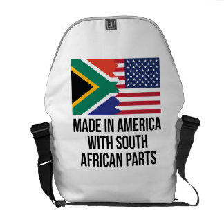 Made In America With South African Parts Courier Bag
