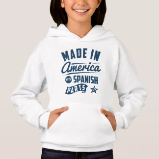 Made In America With Spanish Parts Hoodie
