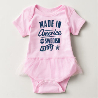 Made In America With Swedish Parts Baby Bodysuit