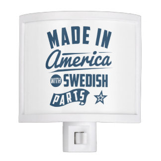 Made In America With Swedish Parts Night Light