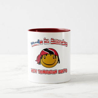 Made in America with Trinidadian part's Mug